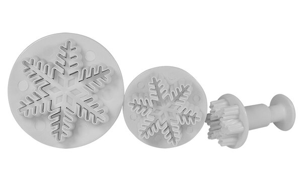 Snowflake Plunger by NY Cake