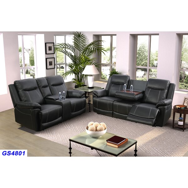 Rone 2 Piece Recliner Living Room Set by Canora Grey