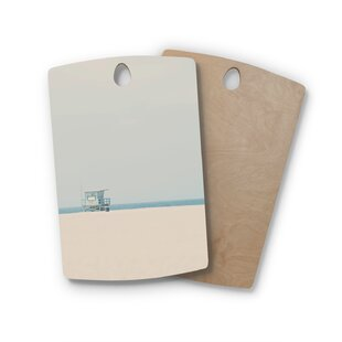 Read Reviews Laura Evans Birchwood Tower 17 Coastal Cutting Board ByEast Urban Home