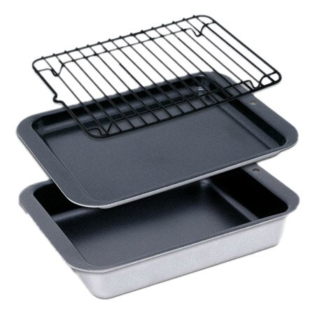 Compact Ovenware 8.5 3 Piece Bakeware Set by Nordic Ware| @ $23.50