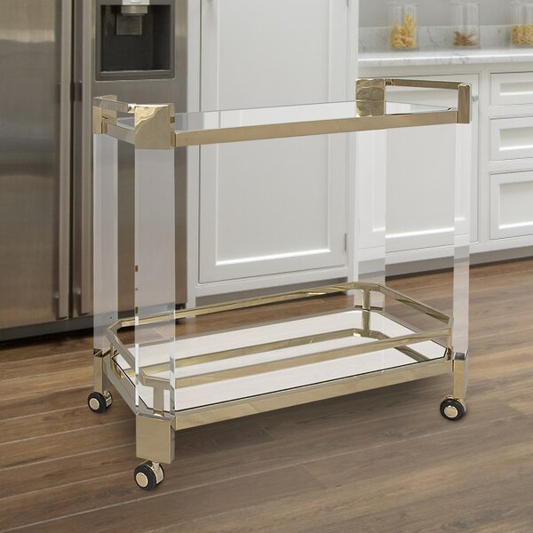 Tadcaster Bar Cart by Everly Quinn