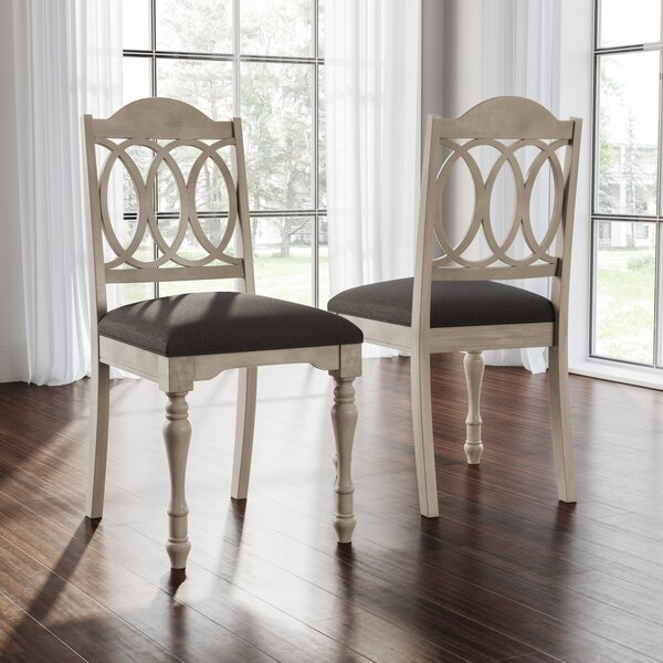 Piazza Upholstered Dining Chair (Set of 2) by August Grove