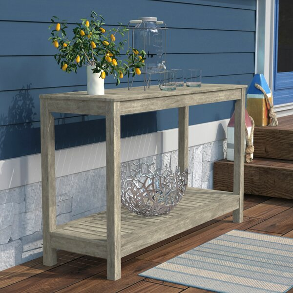 Englewood Wooden Console Table by Beachcrest Home