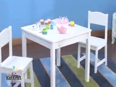 KidKraft Aspen Kids 3 Piece Table and Chair Set & Reviews | Wayfair