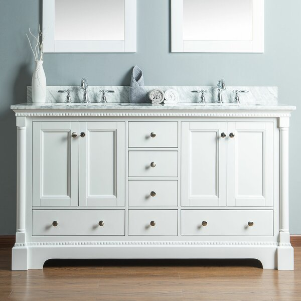 Rayleigh 60 Double Bathroom Vanity Set by Charlton Home