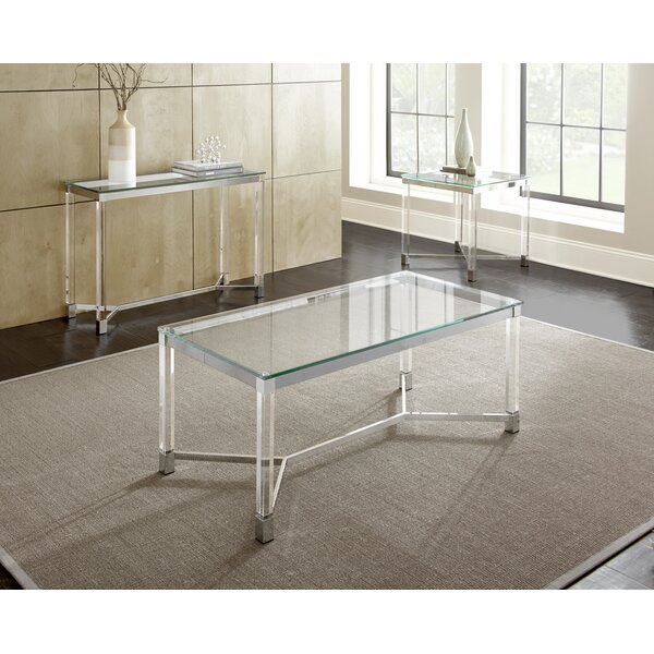 Farmingdale 3 Piece Coffee Table Set by Wade Logan