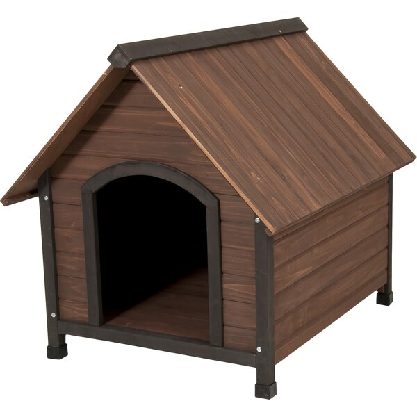 Aspen Pets Ruff Hauz Wood Peak Dog House by Petmate