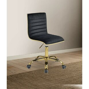 Yehuda Armless Task Chair by Everly Quinn Wonderful