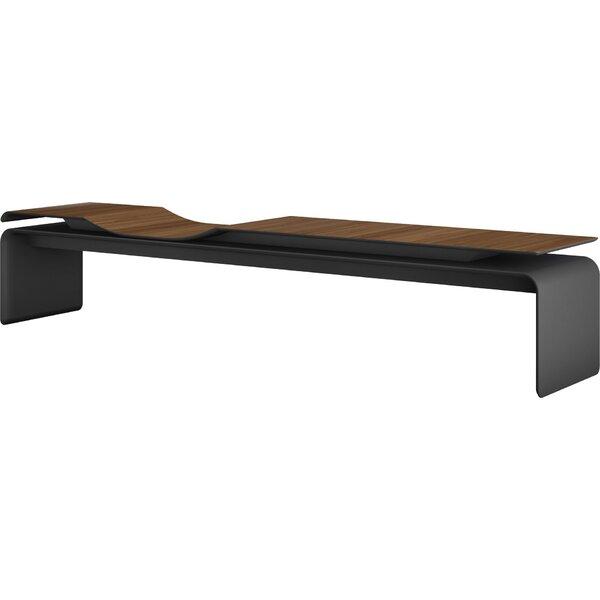 Norbury Wood Bench by Modloft Black