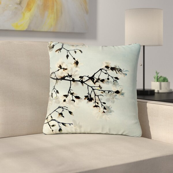 Bloom Photography Nature Outdoor Throw Pillow by East Urban Home