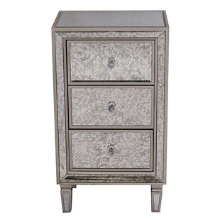 Leeann 3 Drawer Accent Chest