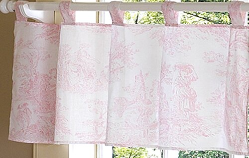 French Toile 54 Curtain Valance by Sweet Jojo Designs