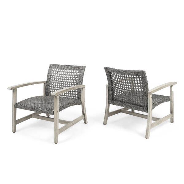 Ravenstein Patio Chair (Set of 2) by Bungalow Rose