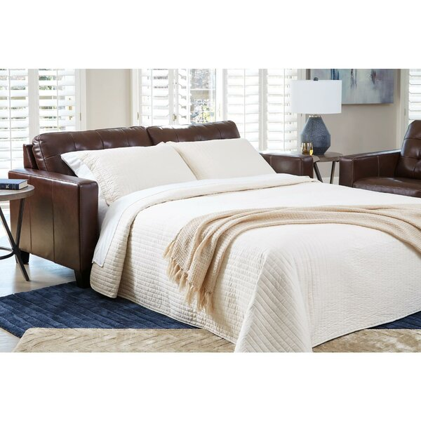 Alexander-John 82'' Square Arm Sofa Bed by Latitude Run Latitude Run
