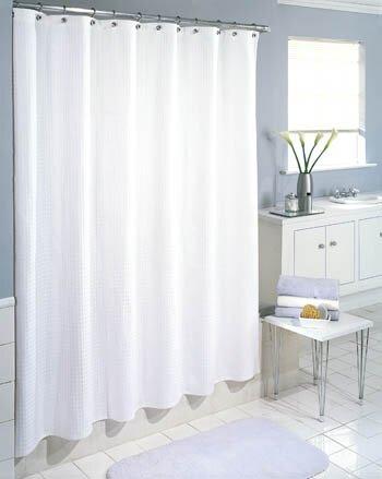 Symple Stuff Cotton Waffle Weave Shower Curtain Amp Reviews