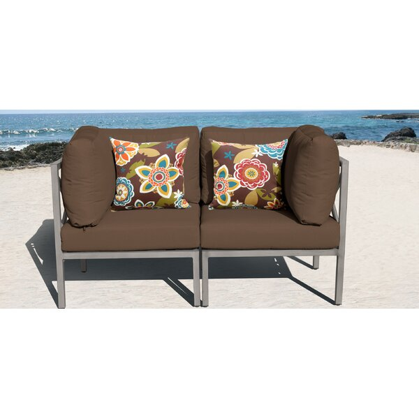 Carlisle Loveseat with Cushions by TK Classics