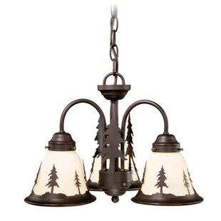 Looking for Jennings 3-Light Shaded Chandelier By Loon Peak