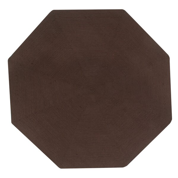 Vienne Chocolate Solid Area Rug by August Grove