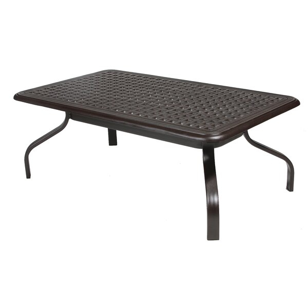 Domenic Metal Coffee Table by Darby Home Co