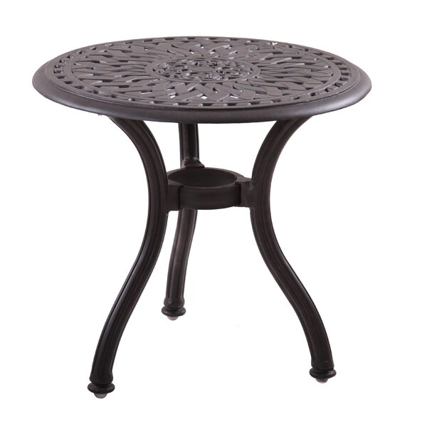 Fairmont Traditional Side Table by Astoria Grand