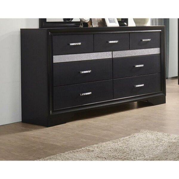 Clorinda 7 Drawers Double Dresser by Latitude Run