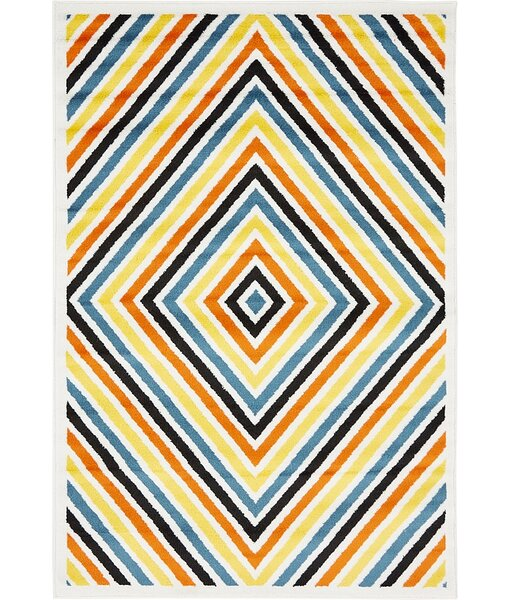 Sidney Ivory Area Rug by Wrought Studio
