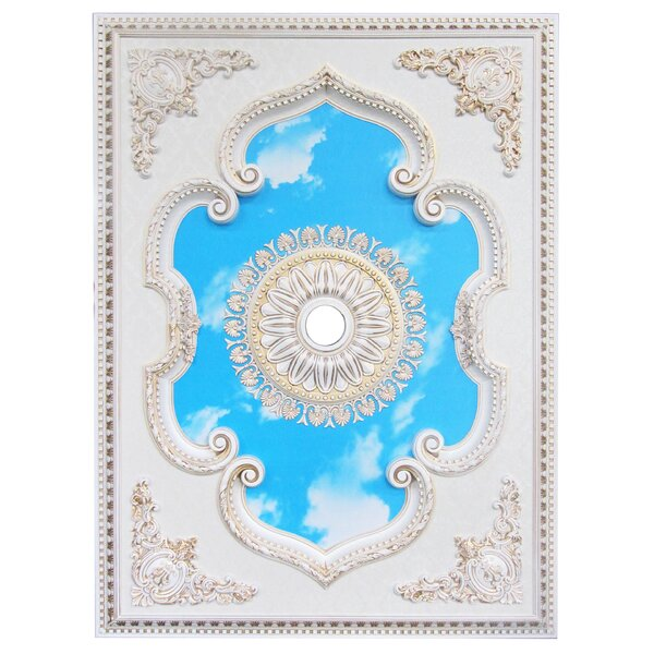 Rectangle Ceiling Medallion