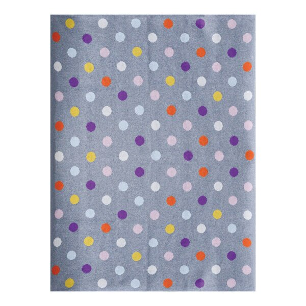 Elizabeth Street Dots Cotton Blanket by Harriet Bee