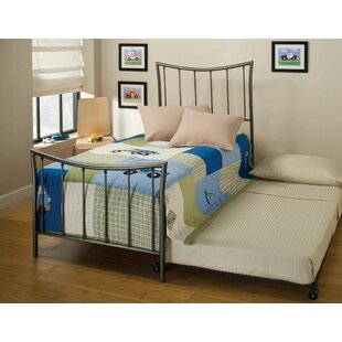 Read Reviews Kristopher Twin Panel Bed with Trundle ByLatitude Run