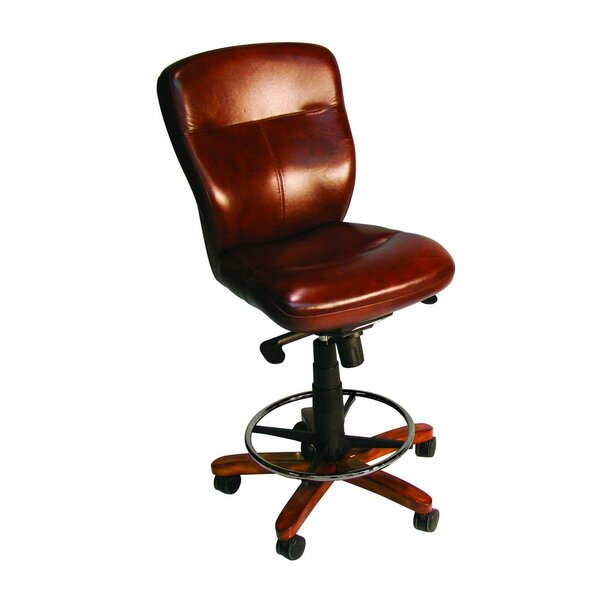 Leather Drafting Chair by Hooker Furniture