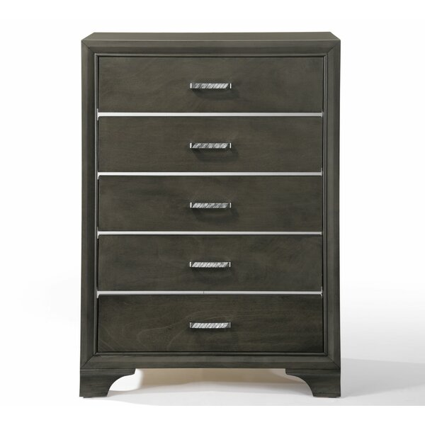 Anadolu 5 Drawer Chest by Modern Rustic Interiors