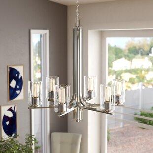 Dorcia 6-Light Shaded Chandelier By Orren Ellis Ceiling Lights