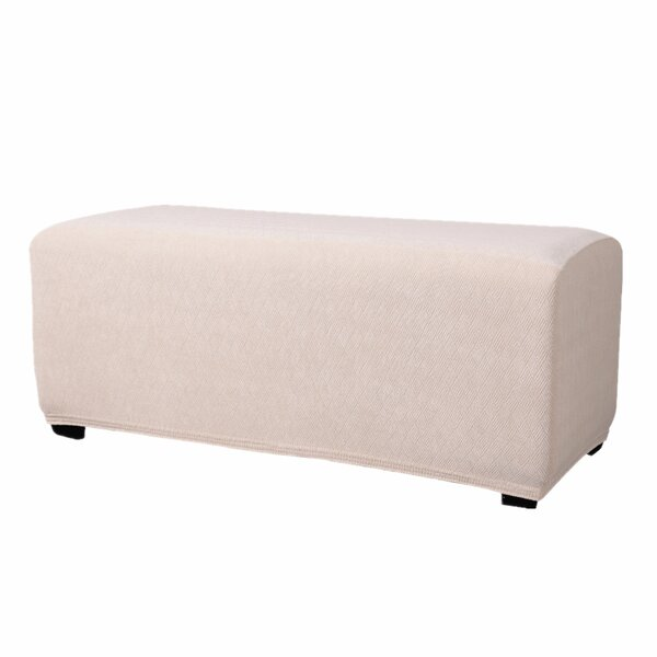 T-Cushion Ottoman Slipcover By Freeport Park