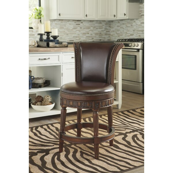 Alresford Swivel 25 Bar Stool by Fleur De Lis Living