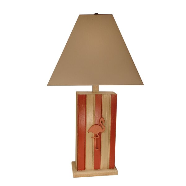 Skinner Flamingo 29 Table Lamp by Bay Isle Home