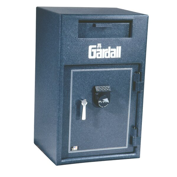 Large Wide Body / Cash Dial Lock Commercial Register Tray Safe 2.7 CuFt by Gardall Safe Corporation