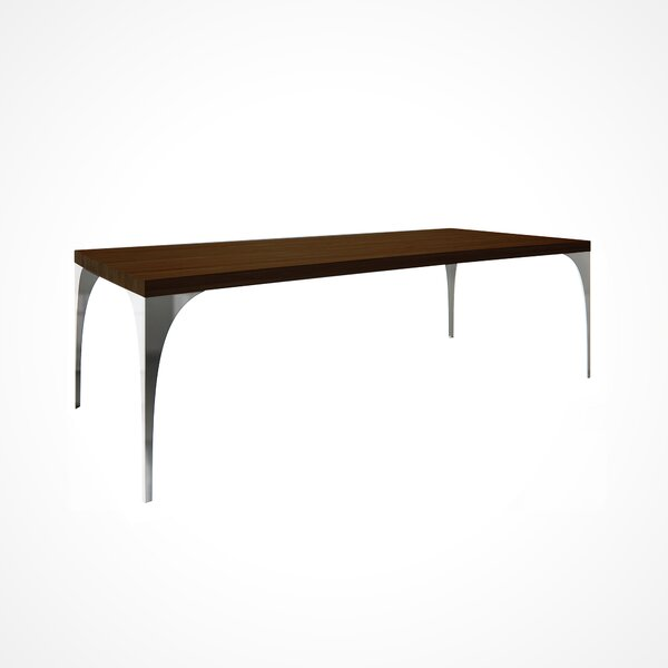 Neema Wood Top Dining Table by Union Rustic
