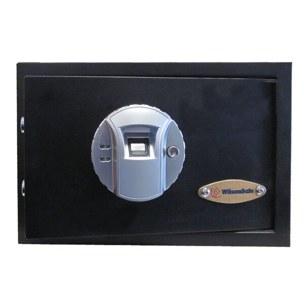 Biometric Lock Commercial Hotel Safe 0.44 CuFt by Wilson Safe