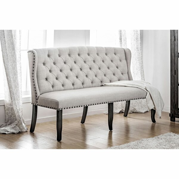 Lerner Upholstered Bench by Canora Grey Canora Grey