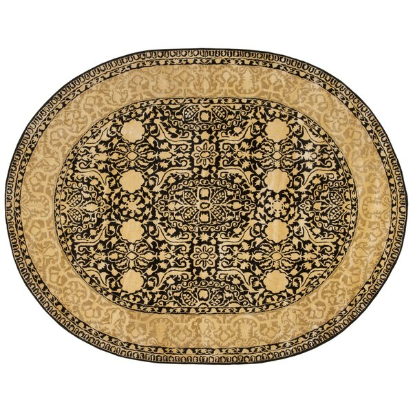 Silk Road Black/Ivory Area Rug by Safavieh