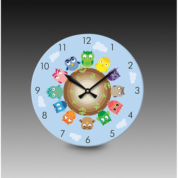 Acrylic Print Wall Clock by Acrylic Idea Factory