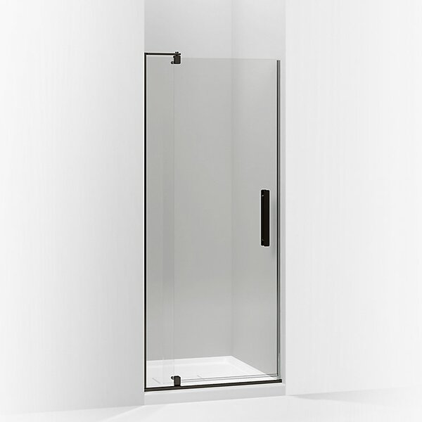 Revel 27.25'' x 74'' Pivot Shower Door with CleanCoat® Technology by Kohler