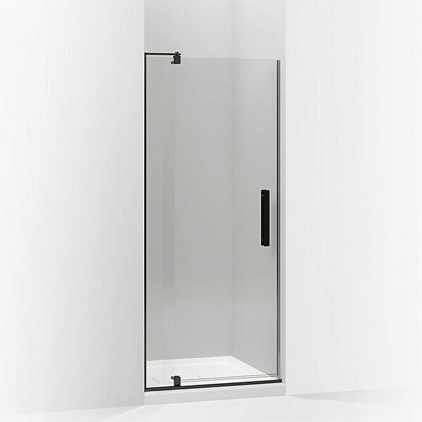 Revel 27.25'' x 74'' Pivot Shower Door with CleanCoat® Technology by Kohler
