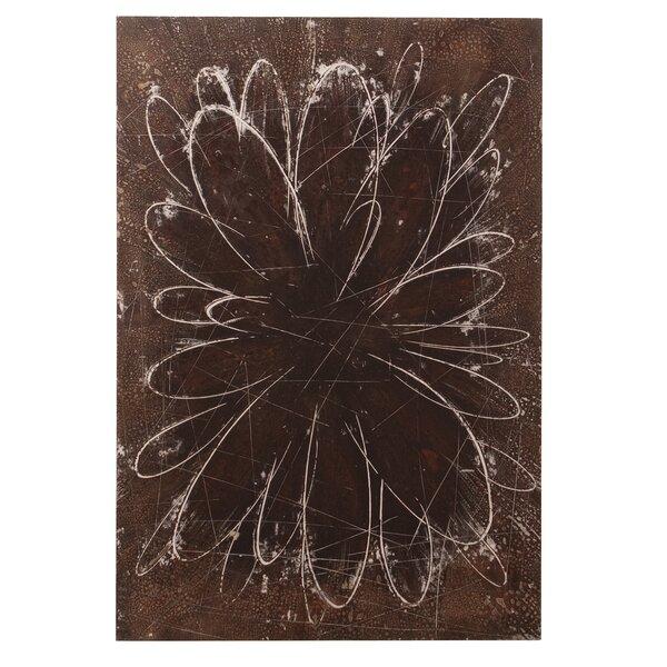 Abstract Flower Original Painting by Howard Elliott