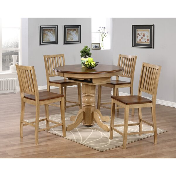 Huerfano Valley 5 Piece Pub Table Set By Loon Peak Best