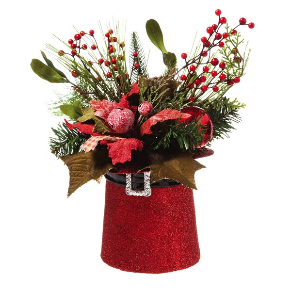 Holiday Hat Centerpiece by Cypress Home