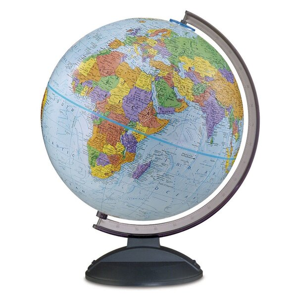 Political Globe by Winston Porter