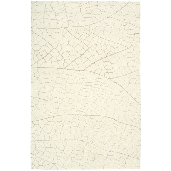 Imhoff Hand-Tufted Ivory Area Rug by Brayden Studio