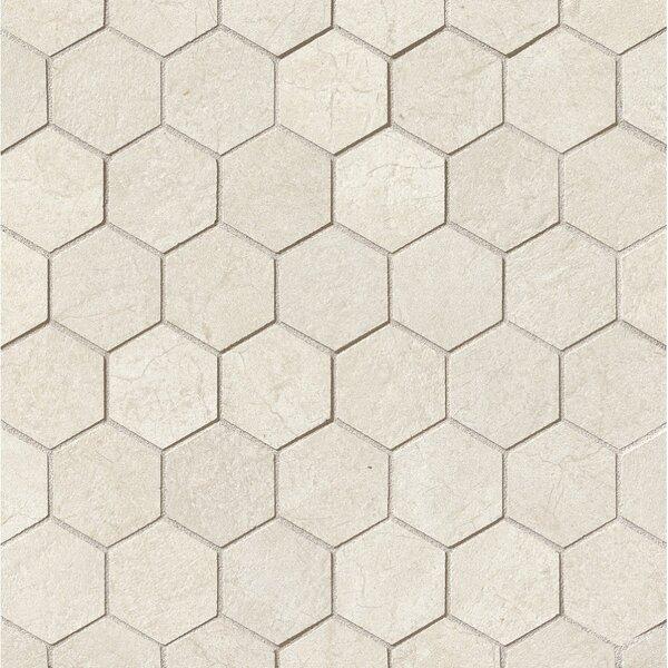 El Dorado 2 x 2 Porcelain Hexagon Mosaic Tile in Shell by Grayson Martin
