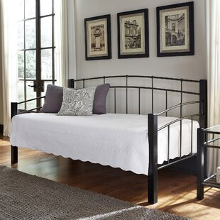 Sullivan Twin Metal Daybed with Sloping Top Rails